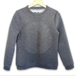 Kenzo Paris Jungle Scuba Sweatshirt in Grey